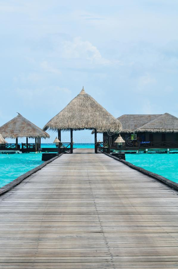 Maldives, Welcome to Paradise! royalty free stock photography
