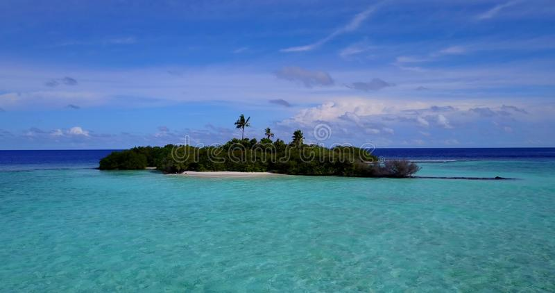 V15152 maldives white sand beach tropical islands with drone aerial flying birds eye view with aqua blue sea water and. Maldives white sand beach tropical royalty free stock image