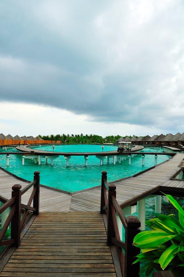Maldives, Willkommen zum Paradies! stockfoto