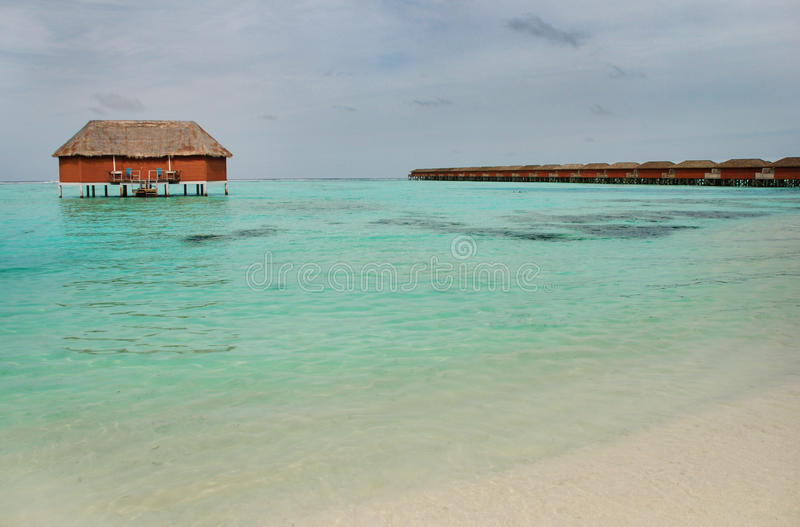Maldivian Island royalty free stock photo