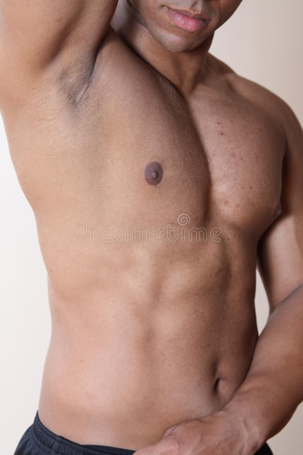 Free Male Abs Royalty Free Stock Photos - 10234848