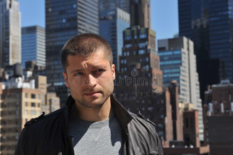 Male actor headshot royalty free stock photo
