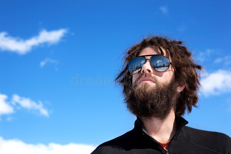 Male Adventurer stock image