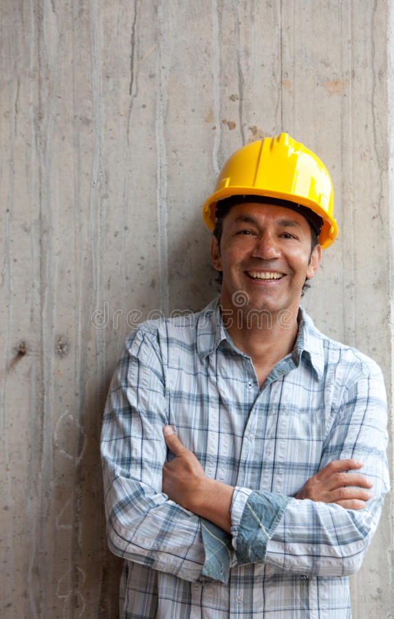Download Male Architect At A Construction Site Stock Photo - Image: 16036808
