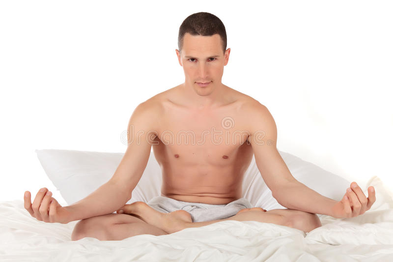 Download Male Athlete Fitness Yoga Royalty Free Stock Images - Image: 17313079