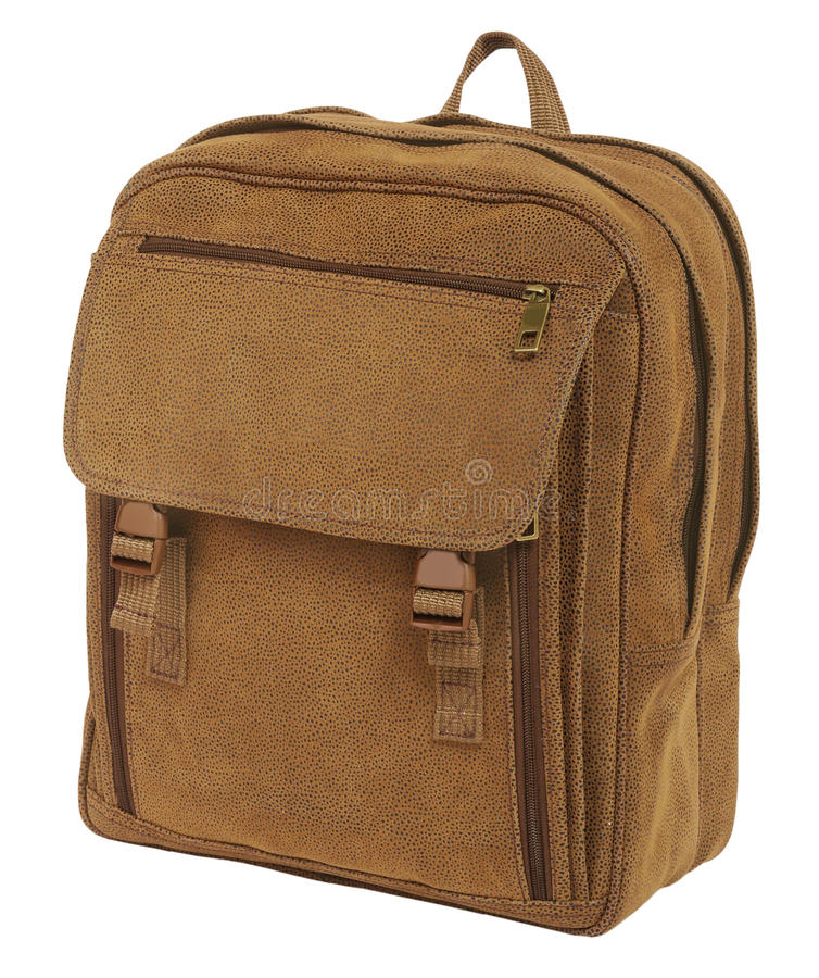 Free Male Backpack Royalty Free Stock Image - 28657026