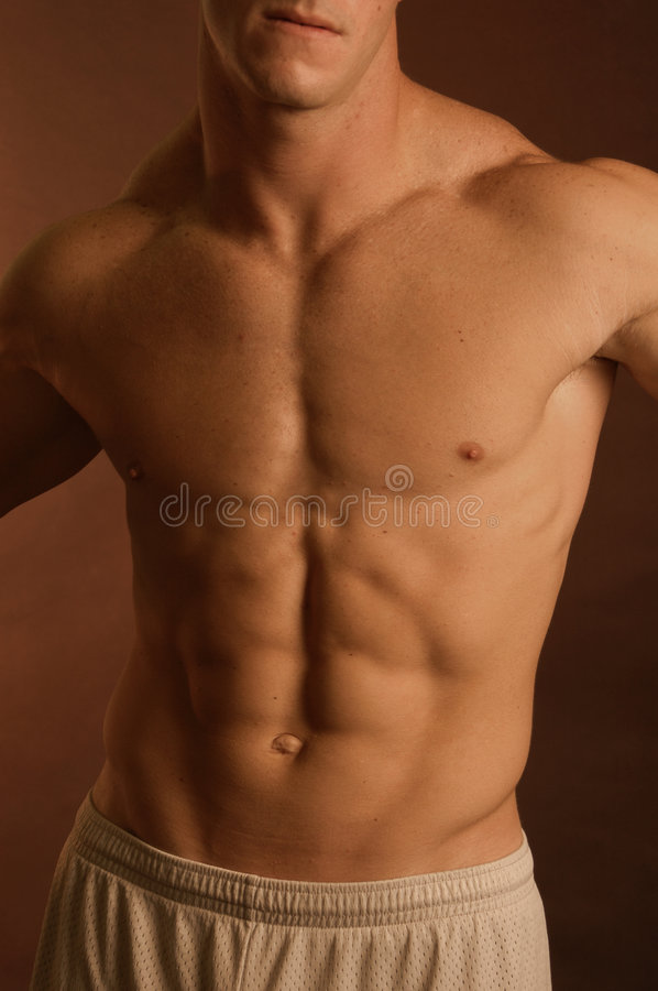 Male body royalty free stock photography