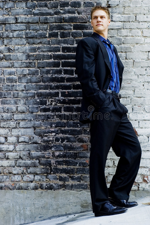 Male Business Model royalty free stock photos