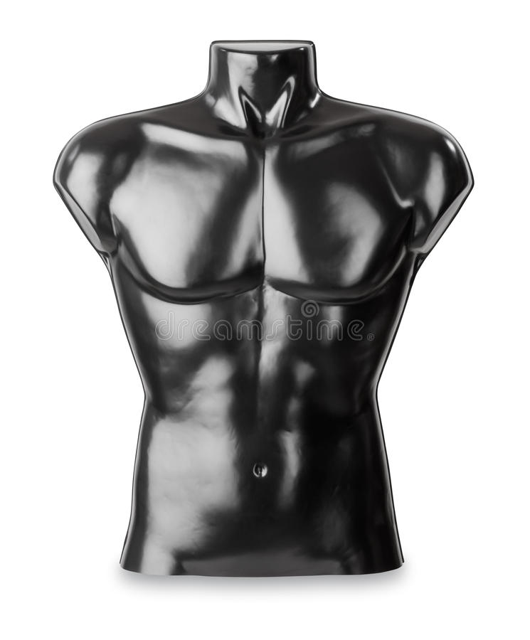 Male bust as torso stock photo