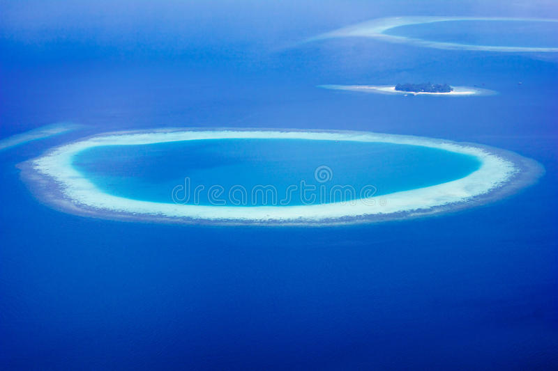 Male´ The Capital of the Maldives royalty free stock image