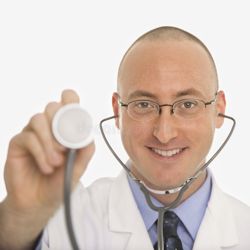 Download Male Caucasian Doctor. Stock Image - Image: 2425991