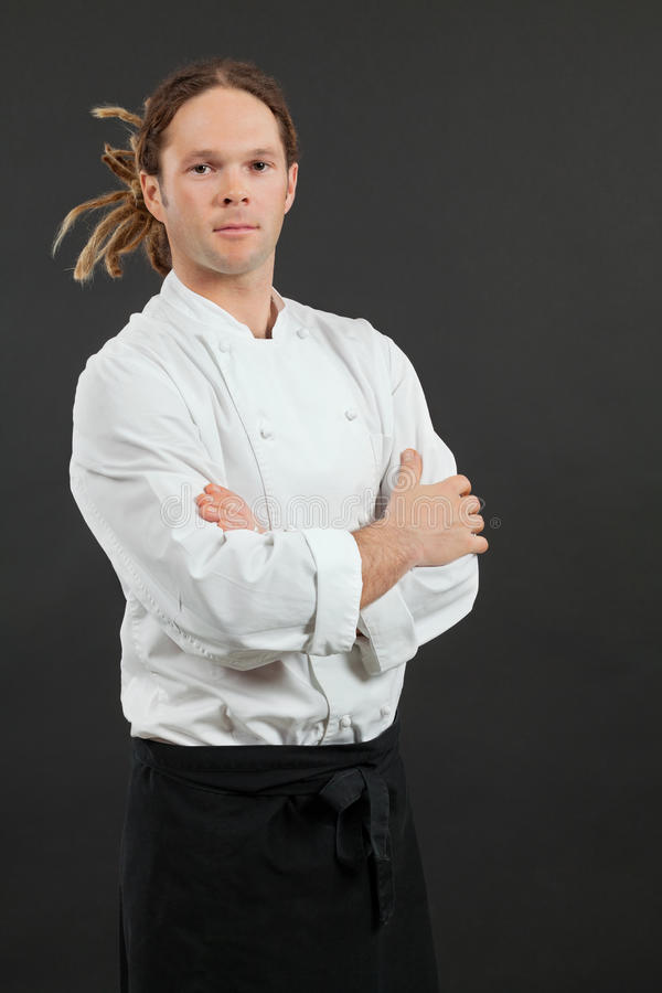 Download Male Chef Standing With Arms Crossed Stock Photo - Image: 26181290