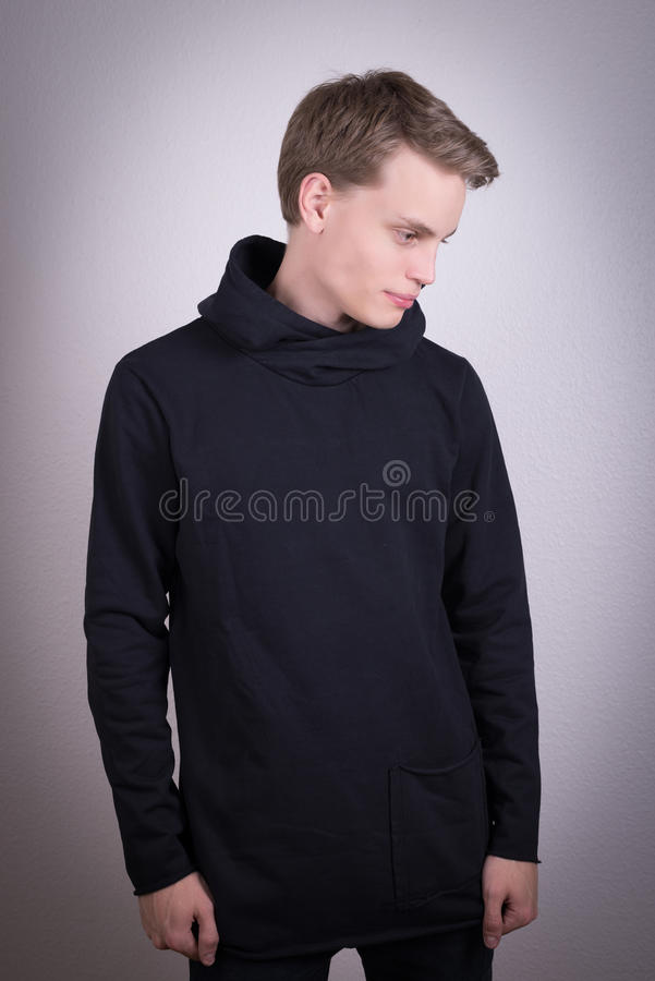 Male clothes model stock images