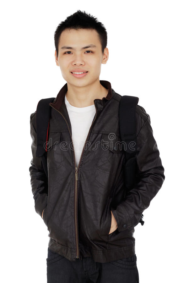 Male College Student stock images