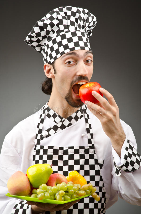 Download Male Cook In The Apron Royalty Free Stock Photo - Image: 25114955