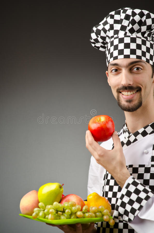 Download Male Cook In The Apron Royalty Free Stock Photography - Image: 25236157