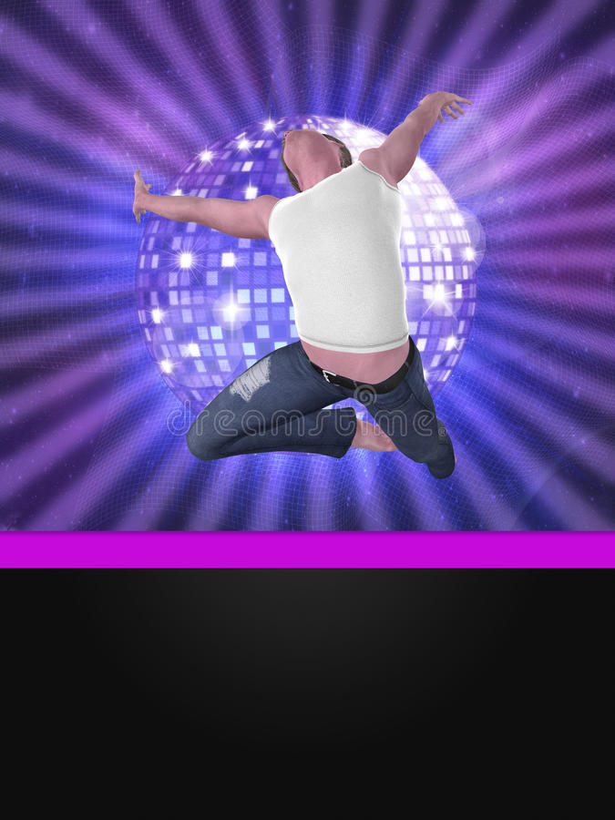 Male dancer royalty free stock photo