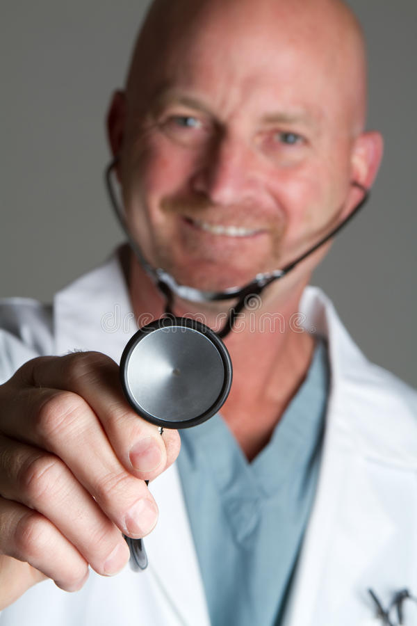 Download Male Doctor stock photo. Image of happy, hair, closeup - 14159770