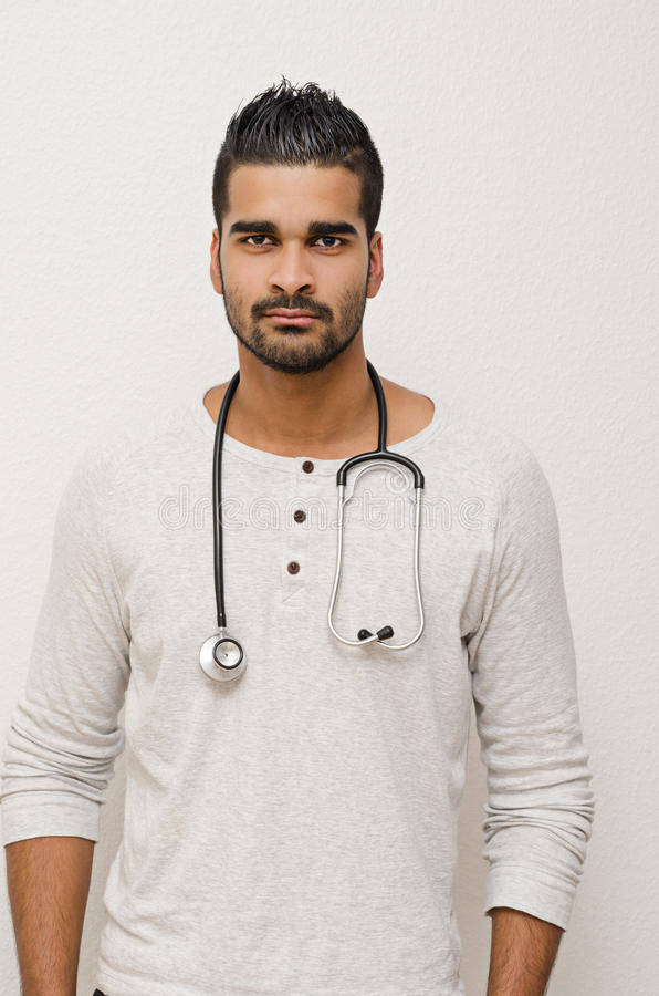 Male doctor royalty free stock images