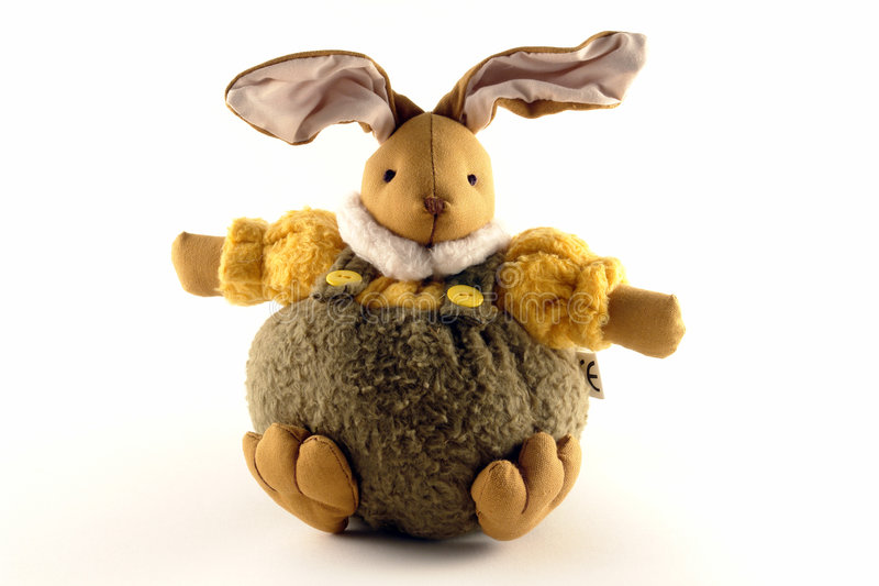 Male Easter Bunny stock images