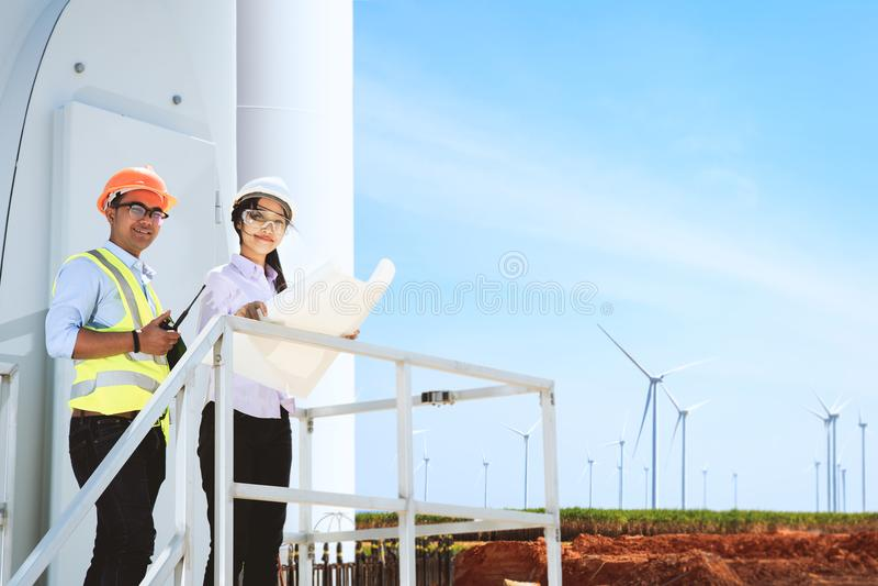 Turbine royalty free stock photo