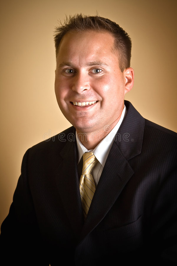 Male Executive stock image