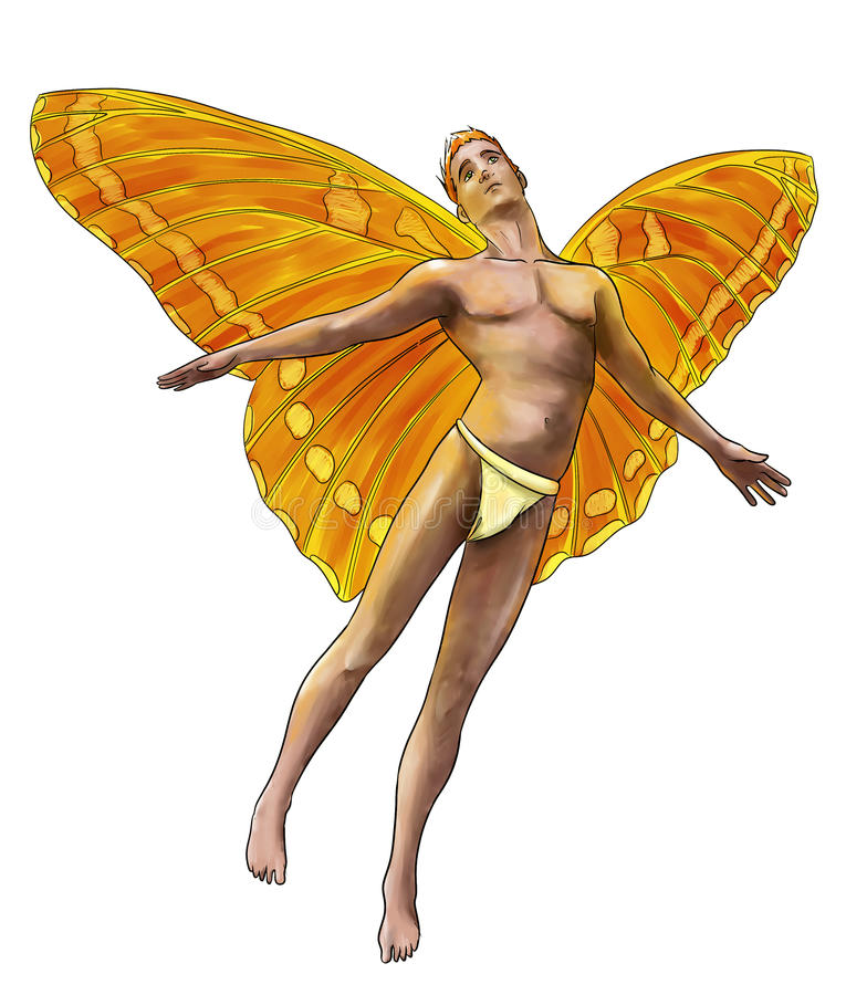 Download Male fairy stock image. Image of fantasy, fairy, creatures - 40733789