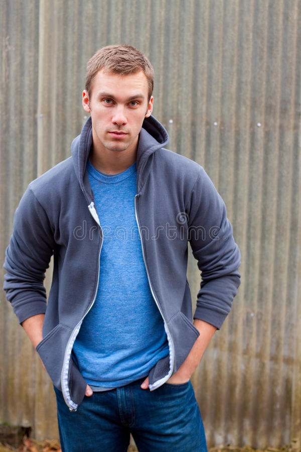 Male Fashion Model stock photography