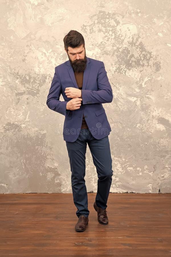 Male fashion model. Mature businessman walking. Modern life. Tailor or fashion designer. Brutal bearded hipster royalty free stock images