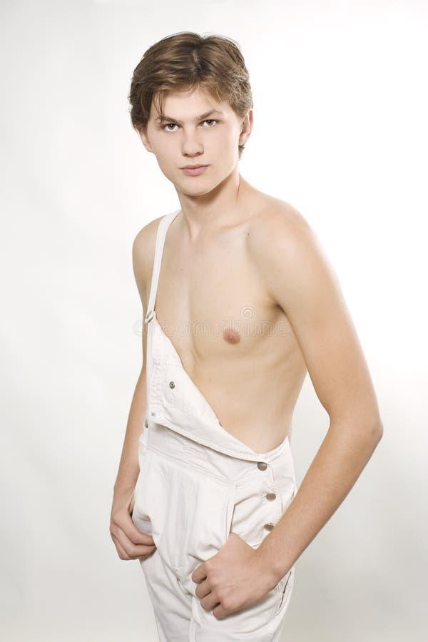 Male fashion model posing royalty free stock image
