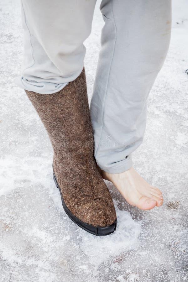 Russian male feet