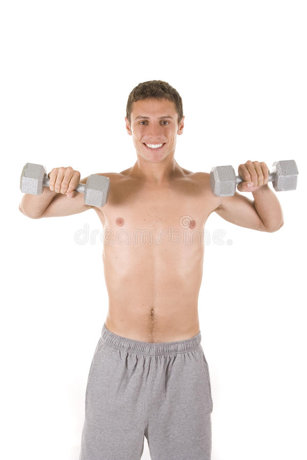 Male Fitness stock photography