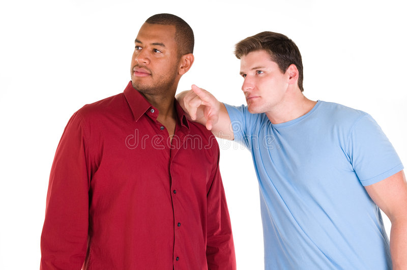 Male friends royalty free stock images