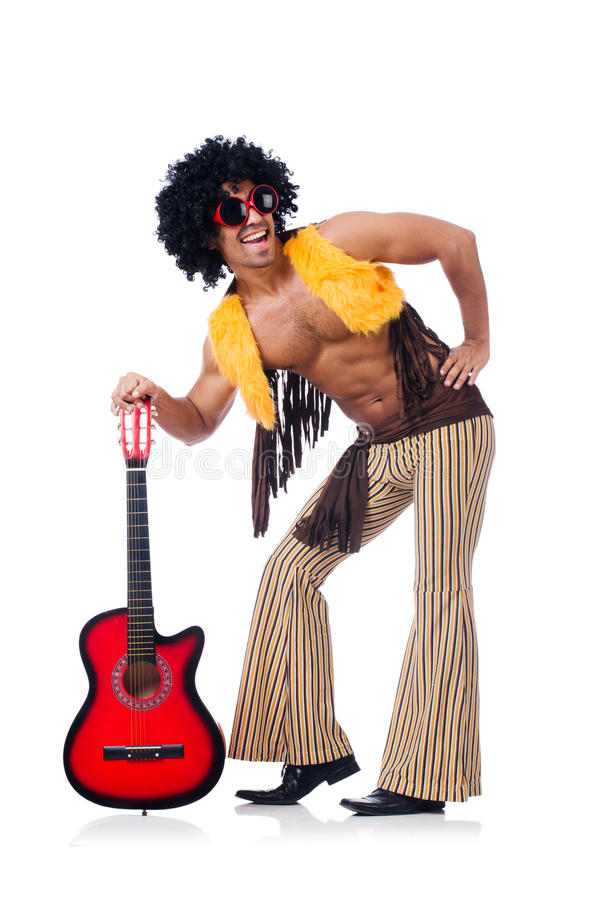 Download Male Guitar Player Royalty Free Stock Photo - Image: 34469285