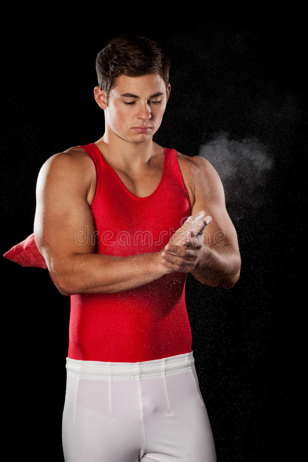 Download Male Gymnast stock photo. Image of young, attractive - 26929420