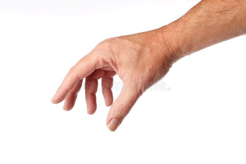 Male hand royalty free stock photo