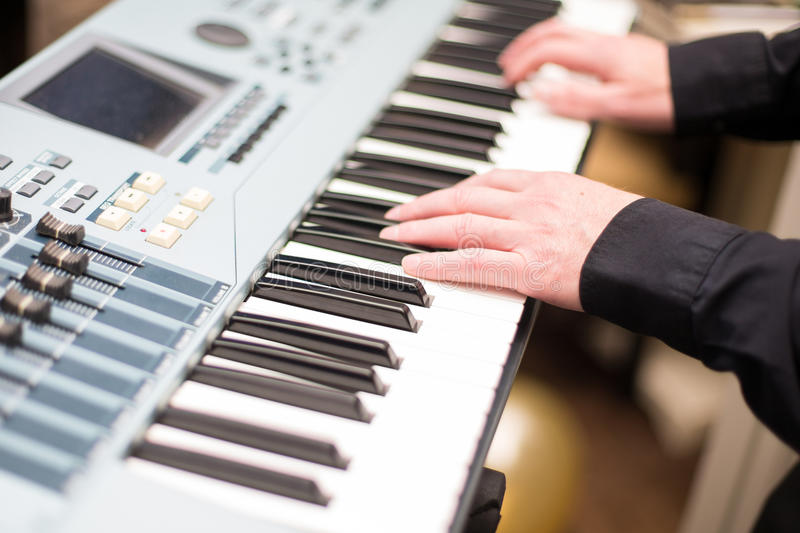 Synthesizer stock photography