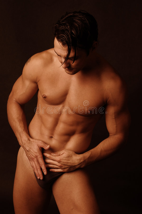 Free Male In Underwear 4 Royalty Free Stock Photography - 1152247