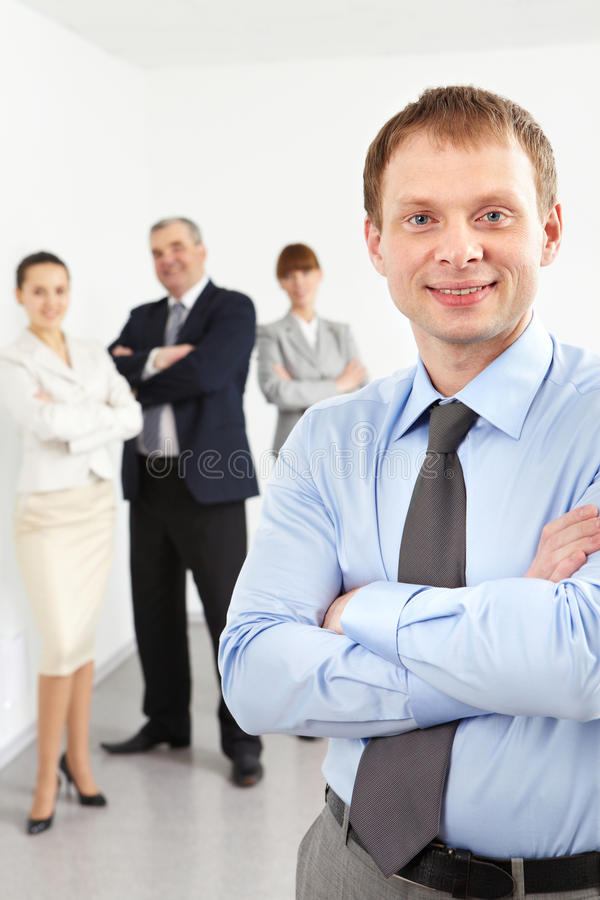 Male Leader Royalty Free Stock Photography