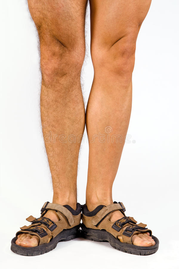 Male Legs Royalty Free Stock Photography