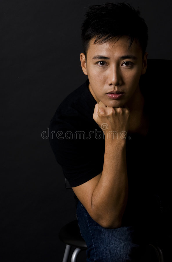 Male Model 10 Royalty Free Stock Images