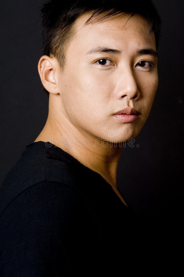 Download Male Model 3 stock image. Image of person, stare, asian - 213565