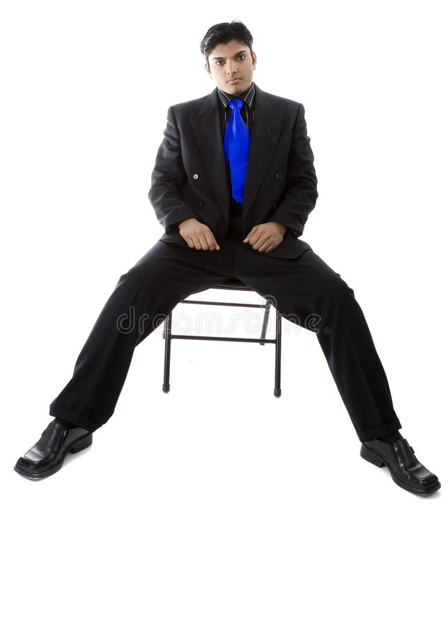 Male Model in business suit stock images