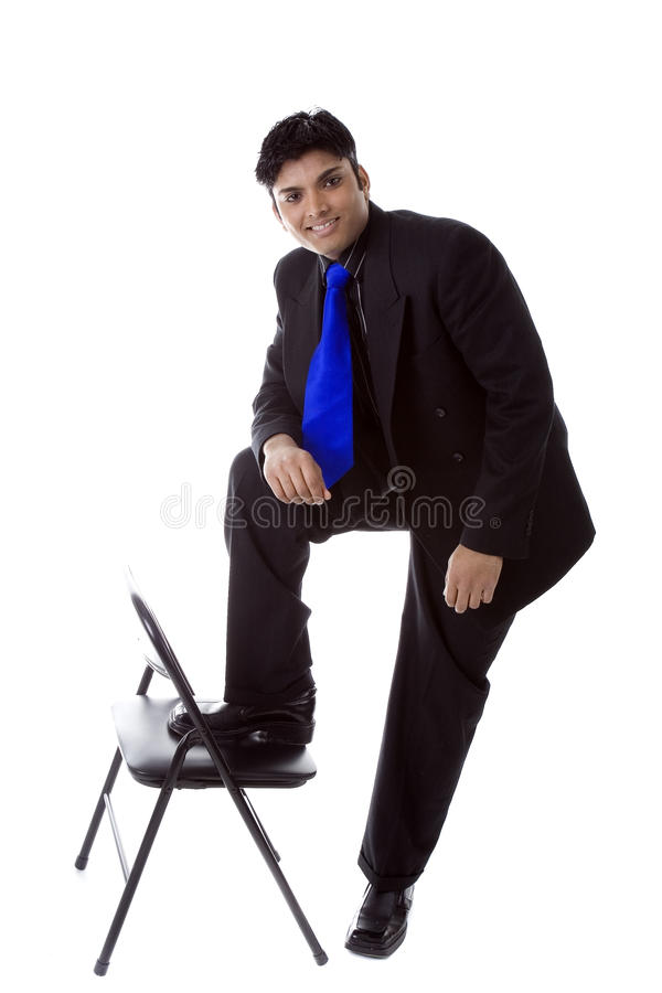 Male Model in business suit royalty free stock photo
