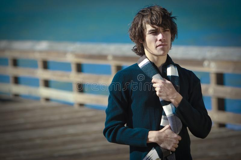 Download Male Model In Lifestyle Situations In Urban Area Stock Photo - Image of model, lifestyle: 13608496