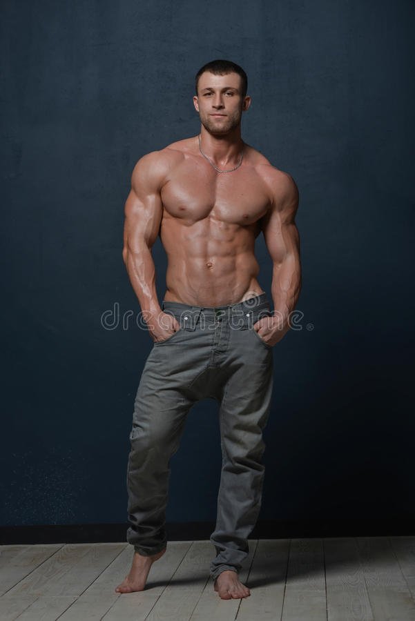 Male model stock photo