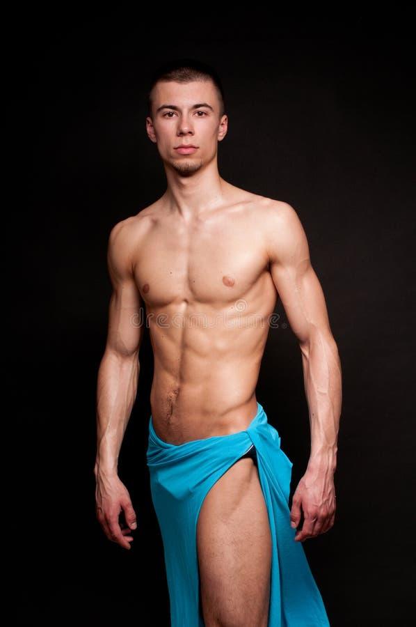 Male modell royaltyfria bilder