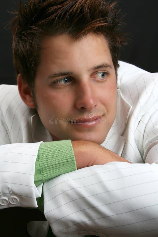 male modell royaltyfria foton