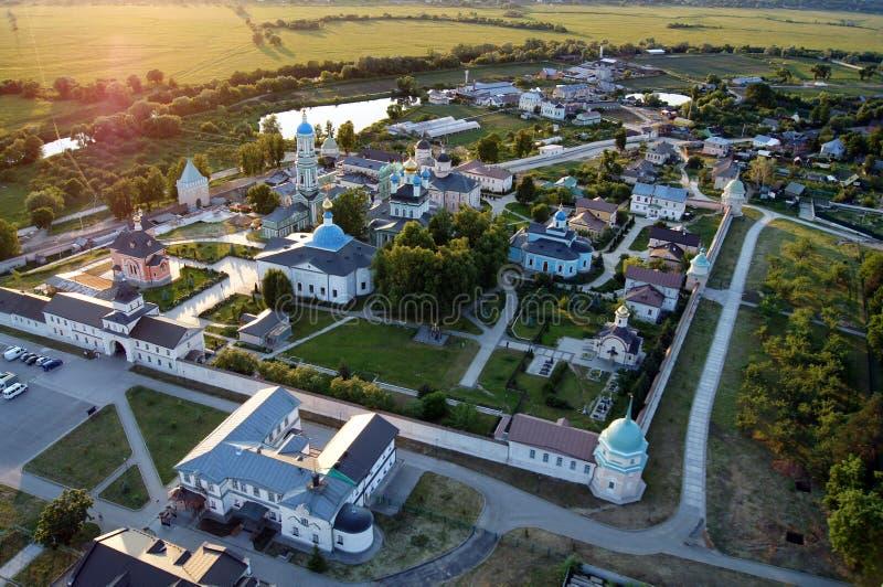 Male monastery Optina Pustyn in Russia stock photography