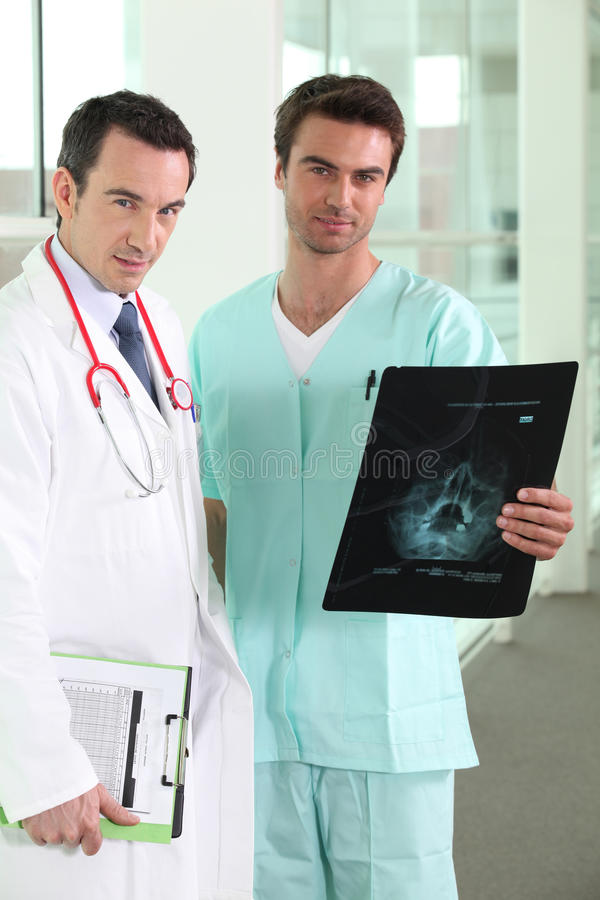Download Male nusre and doctor stock photo. Image of data, nose - 29386734
